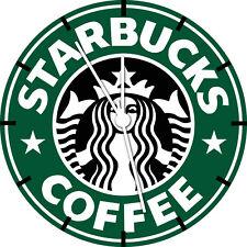 Starbucks Coffee Wall Clock A474