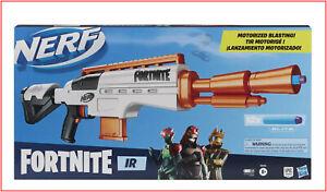 Nerf Fortnite IR MOTORIZED BLASTER + 12 Darts - 6 Dart Clip Acceleration Button