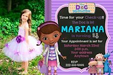 Doc McStuffins Birthday party invitations personalized You print