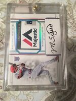 2017 National Treasures Magneuris Sierra RPA 1/1 One Of One Cardinals Marlins