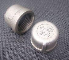 """STAINLESS STEEL END CAP 1/2"""" NPT PIPE EC-050"""