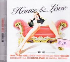House & love + 2 CD + volume 1 + 26 extended club versions + NUOVO + OVP +