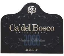 6 bottles BRUT 2010 FRANCIACORTA VINTAGE COLLECTION DOCG CA' DEL BOSCO