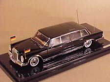 TrueScale 1/43 Resin 1963 Mercedes-Benz 600 Pullman State Limouisine #TSM124353