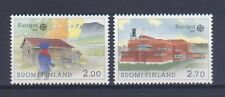 FINLAND, EUROPA CEPT 1990, POST OFFICE BUILDINGS, MNH
