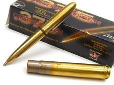 FISHER SPACE PEN Antique Gold Finish .375 BULLET PEN Medium Point Black Ink! 375