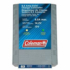 Coleman Standard Gray 8.5-Amp Charge Controller for Solar Panels and Batteries