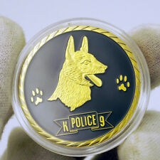 US Military Police K9 Working Dog Paw Army Navy Marine Air Force Challenge Coin