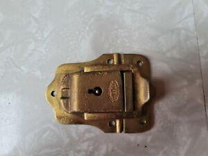 Vintage Brass Trunk Latch