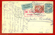 LATVIA LETTLAND GERMANY 1928 RIGA LIDPASTS-BERLIN POSTCARD 361