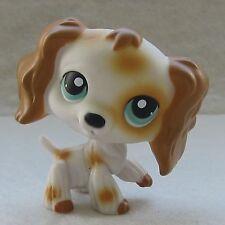 Littlest Pet Shop Animal Loose LPS Toys #344 Cocker Spaniel Dog Puppy Green Eyes