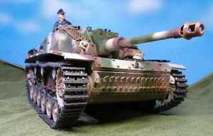 Taigen Stug III, 2.4Ghz, v3 sound, Metal Pro, Recoil flash custom paint, extra's