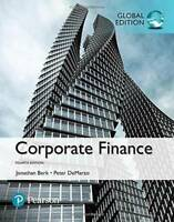 Corporate Finance - Paperback By Jonathan Berk, Peter DeMarzo - GOOD