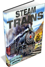 STEAM TRAINS ~ 249 Vintage Book Collection on DVD - Locomotives, Railways