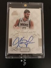 2013 Flawless KEVIN LOVE Auto #/25 TIMBERWOLVES