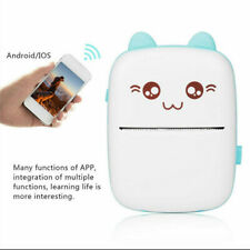 Portable Wireless Bluetooth Mobile Thermal Printer Children Gift For Android iOS