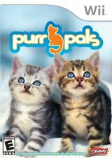 Purr Pals (2008) Brand New Factory Sealed USA Nintendo Wii Game