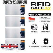 Manga de tarjeta de RFID Cartera crédito de débito Protector de bloqueo sin contacto al por mayor