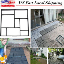 DIY Driveway Walk Maker Paving Patio Concrete Slabs Brick Path Maker Mould US