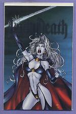 Lady Death Dark Millennium 1 2000 DF Variant Ltd 213/2,500 Vandala Pulido Reis k