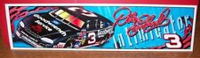 DALE EARNHARDT SR #3 GOODWRENCH CAR 12X3 BUMPER STICKER DECAL