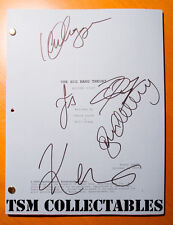 -= BIG BANG THEORY full cast AUTOGRAPHED signed PILOT SCRIPT Galecki Parsons =-