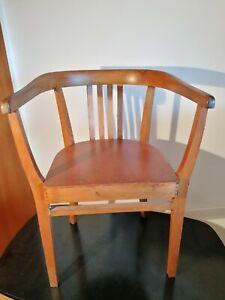 Armlehnstuhl Stuhl Schreibtischstuhl Büro Art Deco Bauhaus Gropius Architekt
