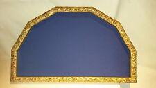 cornice ventagliera in legno dorato anticato cm.58x33