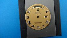 Genuine Vintage Rolex Men's 18039 18239 WG Day Date Rose Roman Numeral Dial