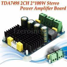 TDA7498 2*100W Clase 2 Canales Tablero Amplificador Potencia Audio Estéreo 8-32V