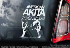 Akita Dog Car Stickers
