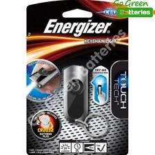 Energizer LED Keyring Torch Touch On-Release Off Keychain Pocket Handbag Light