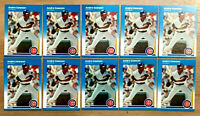 1987 Fleer #U-24 ANDRE DAWSON ~ 10 CARDS LOT ~ HALL OF FAME INDUCTEE