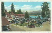 Arrowhead Woods California Lake Arrowhead Norman English Village Postcard