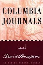 Columbia Journals Hardcover David Thompson