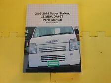 2002-2015 Super Stalker LS/MSV, DA63T Parts Manual (Suzuki Carry)