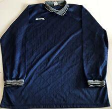 Vintage Score Soccer Jersey - Shirt - Goalkeeper Keeper - Adult XL  - Blue