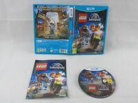 Lego Jurassic World Wii U Nintendo Complete PAL