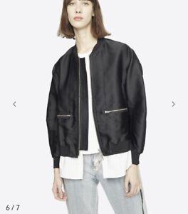 Phillip Lim 3.1 Layered Bomber Jacket Size 0 RRP $1290