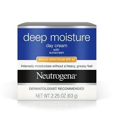Neutrogena Deep Moisture Day Cream  Sunscreen Broad Spectrum Spf 20,