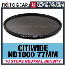 Citiwide ND1000 77mm 10 stops Slim Neutral Density Camera Lens Filter Hoya ND400