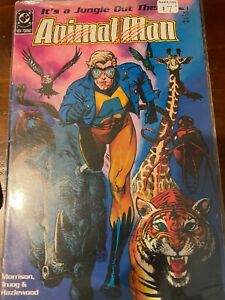 Animal Man Comic Book It's A Jungle Out There #1 1988