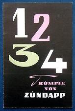 Prospekt brochure Zündapp Moped Motorroller Kleinwagen Janus (D)