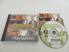 DUKE NUKEM LAND OF THE BABES - SONY PLAYSTATION - JEU PS1 PSX COMPLET