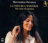 Montserrat Figueras - Voice of Emotion [New SACD] Hybrid SACD