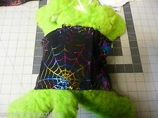 Fancy Colorful Black Spider Belly Bands Halloween Costume Material Handmade