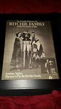 Ritchie Family Arabian Nights Rare Original Promo Poster Ad Framed!