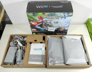 Nintendo Wii U Mario Kart 8 32GB Boxed Complete Black Premium Pack PAL UKV Rare