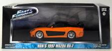 Modellini statici di auto, furgoni e camion neri Fast & Furious pressofuso