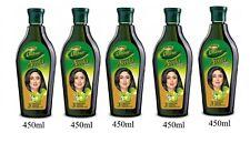 5 x 450ml Dabur amla hair oil Gooseberry hair oil
